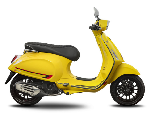 Piaggio ra mat Vespa Primavera Sprint voi mau moi cuc ki thanh lich - 8