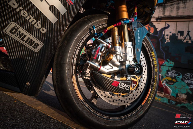 Honda CBR650F do khung nhat tu truoc den nay da lo dien - 13