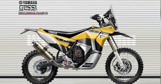Yamaha Tenere 700 Rally Racer lo dien voi hinh anh tao bao - 4