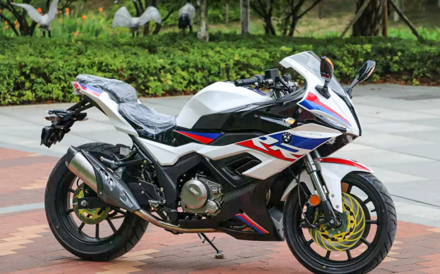 BMW S1000RR phien ban nhai mang ten S450RR den tu Trung Quoc - 5