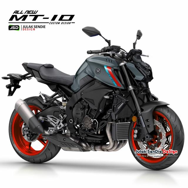 Lo dien y tuong thiet ke Yamaha MT10 2021 - 8