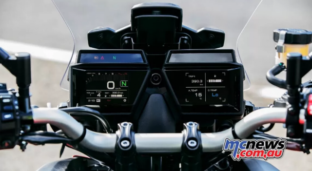 Yamaha Tracer 9 GT 2021 lo dien voi ve ngoai cuc an tuong - 5