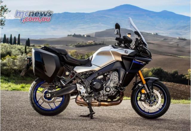 Yamaha Tracer 9 GT 2021 lo dien voi ve ngoai cuc an tuong - 9