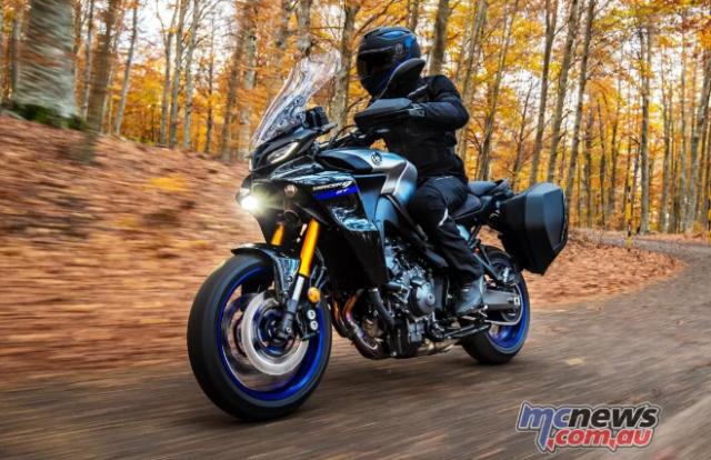 Yamaha Tracer 9 GT 2021 lo dien voi ve ngoai cuc an tuong - 13