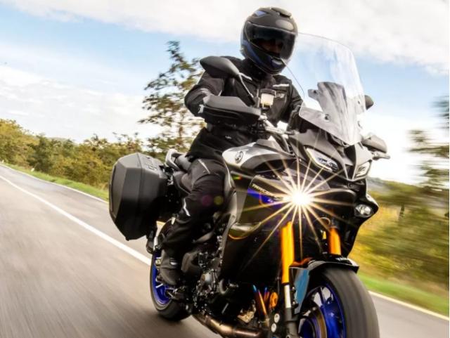 Yamaha Tracer 9 GT 2021 lo dien voi ve ngoai cuc an tuong - 17