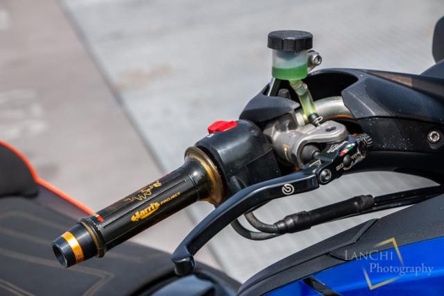 Yamaha TMAX 530 do Turbo cong suat 108 hp dang kinh ngac - 13