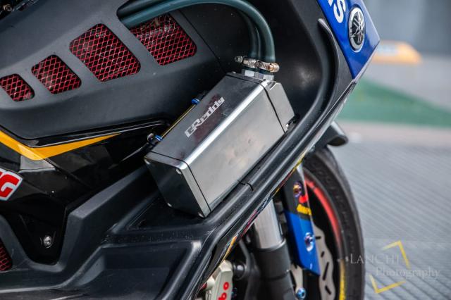 Yamaha TMAX 530 do Turbo cong suat 108 hp dang kinh ngac - 6