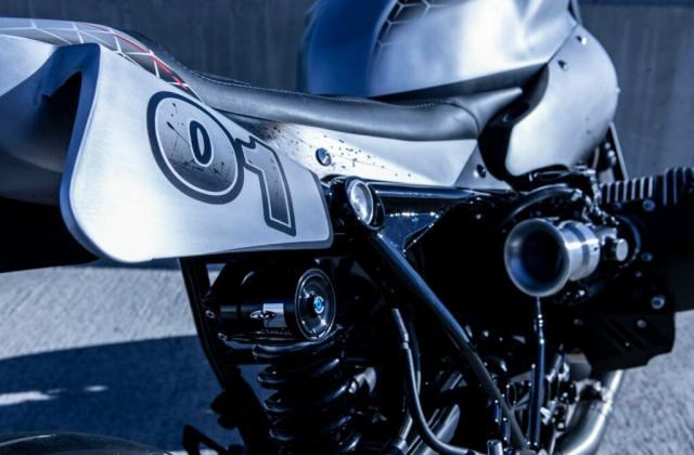 BMW RnineT do vuot xa tuong tuong theo nguyen tac cua Ortolani Customs - 6