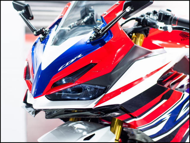 Can canh hai chiec CBR150R 2021 do chinh hang tu Honda - 6