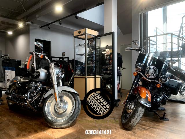Harley Davidson Heritage Classic 114 Scorched Orange Silver Flux - 6