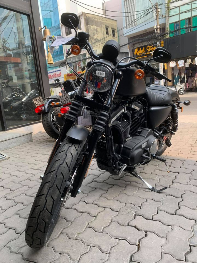 HarleyDavidson Iron883 Black Denim co san giao ngay - 14