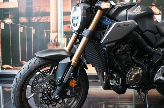 Honda CB650R 2021 Danh gia thuc te nhung thay doi tren xe - 9