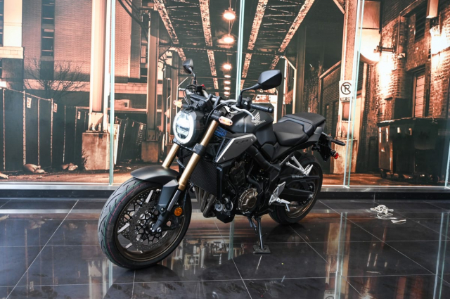 Honda CB650R 2021 Danh gia thuc te nhung thay doi tren xe