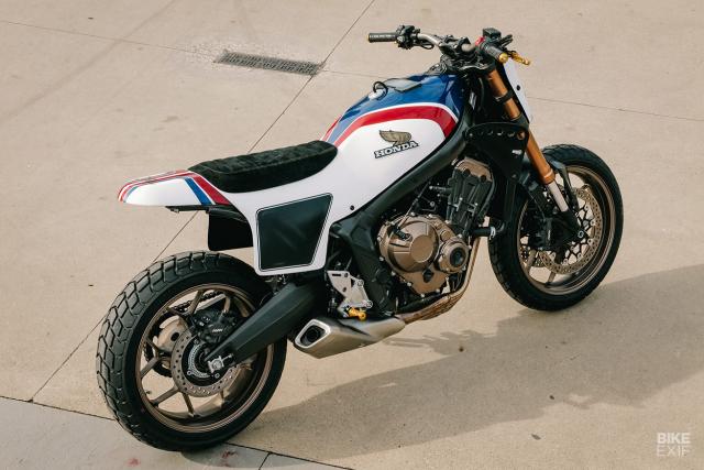 Honda CB650R do phong cach Flat Track cua KingSton - 6