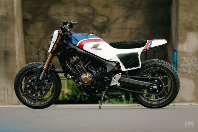 Honda CB650R do phong cach Flat Track cua KingSton - 9