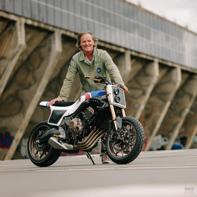Honda CB650R do phong cach Flat Track cua KingSton - 10