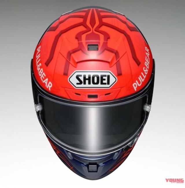 Shoei X14 Marquez 6 ra mat phien ban danh cho Marc Marquez tai MotoGP 2021 - 5