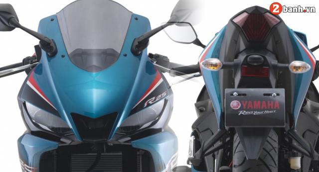 Yamaha R25 2021 chinh thuc trinh lang mau moi voi gia tu 114 trieu dong