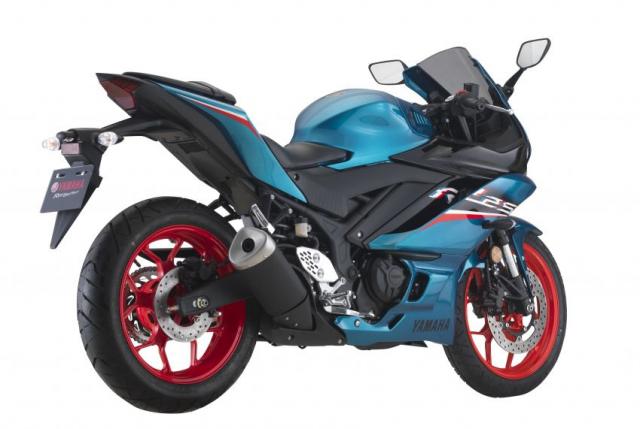 Yamaha R25 2021 chinh thuc trinh lang mau moi voi gia tu 114 trieu dong - 6