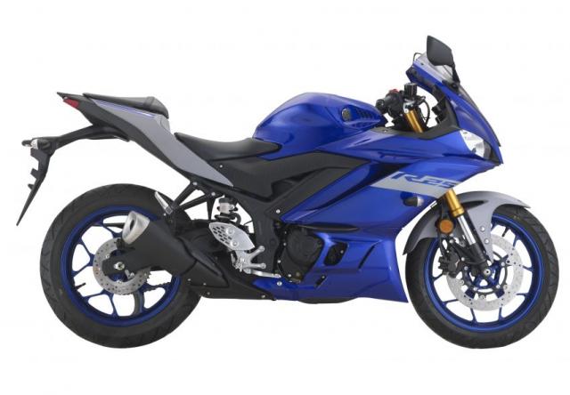 Yamaha R25 2021 chinh thuc trinh lang mau moi voi gia tu 114 trieu dong - 10