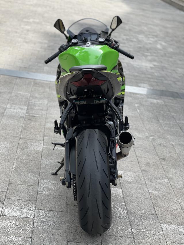 _ Moi ve Kawasaki Ninja ZX6R ABS ban KRT HQCN Dang ky 2020 chinh 1 chu odo dung chuan 9500km