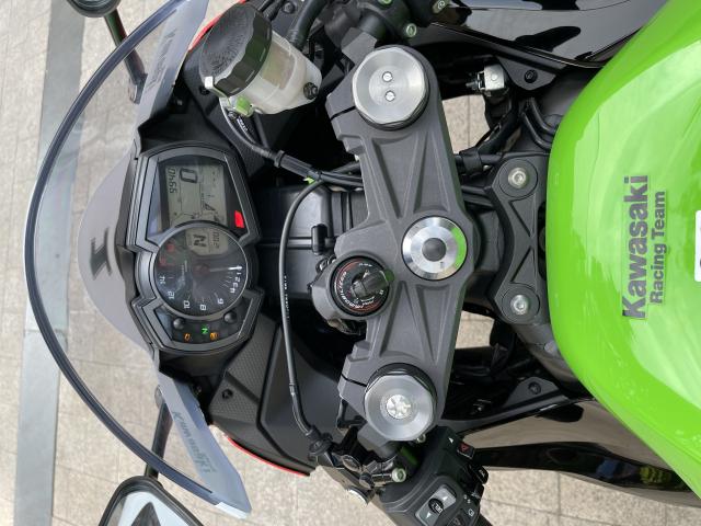 _ Moi ve Kawasaki Ninja ZX6R ABS ban KRT HQCN Dang ky 2020 chinh 1 chu odo dung chuan 9500km - 2