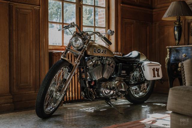 Ban do HarleyDavidson Sportster voi phong cach den tu Nhat Ban - 7