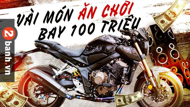 Honda CB650R do cuon hut don xuan Tan Suu
