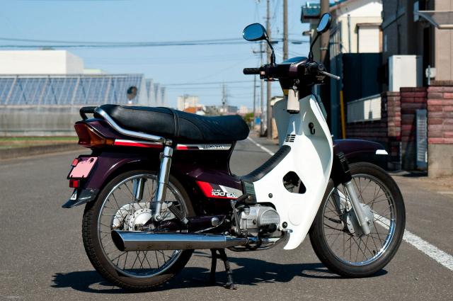 Honda Cub 100 EX Mot nguoi anh em khac cua Dream II than thanh - 4