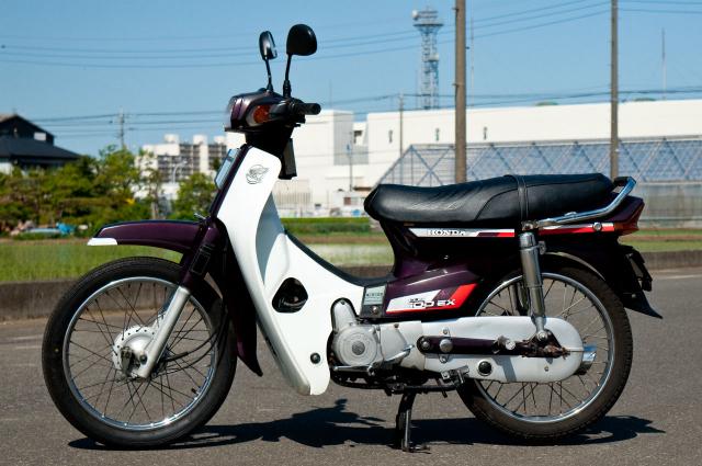 Honda Cub 100 EX Mot nguoi anh em khac cua Dream II than thanh - 11