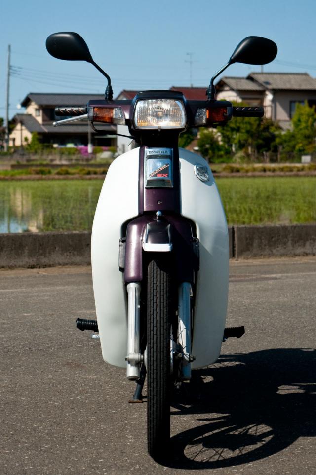 Honda Cub 100 EX Mot nguoi anh em khac cua Dream II than thanh - 12