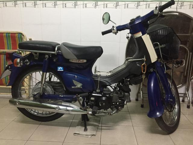 Honda Cub 50 CC phun xang dien tu - 3