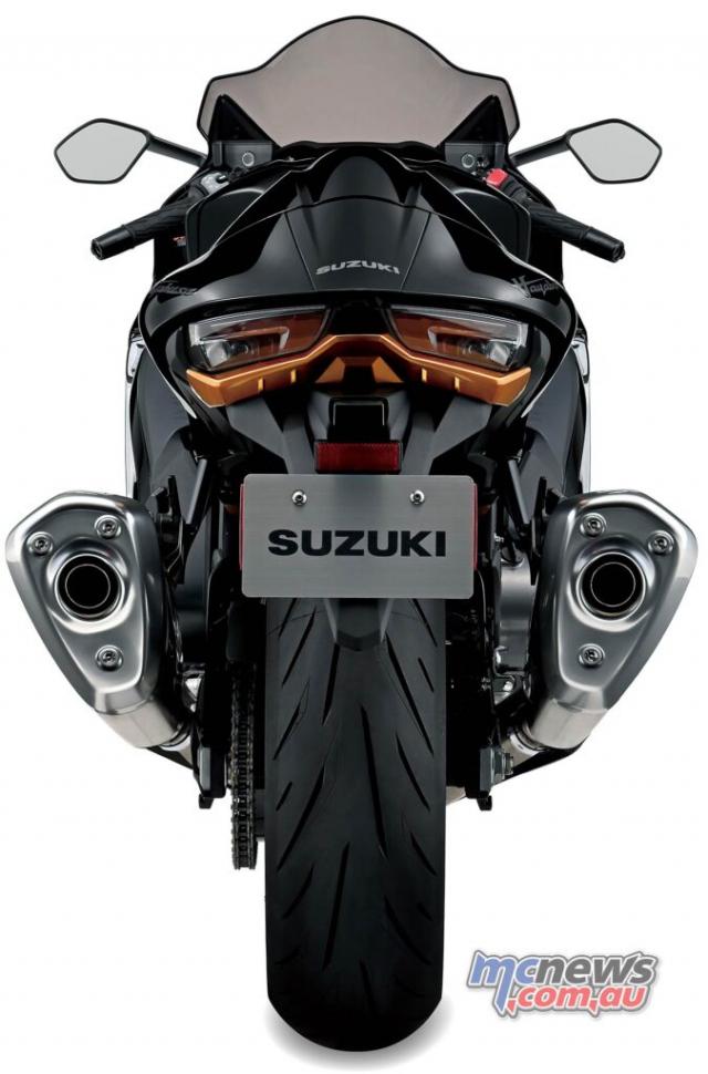 Suzuki Hayabusa 2021 lo dien day du thong so ky thuat va gia ban - 10