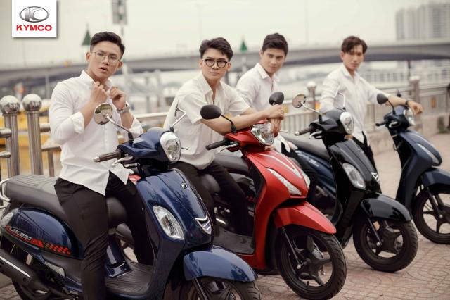Xe 50cc tai Kymco chinh hang voi nhieu uu dai hap dan