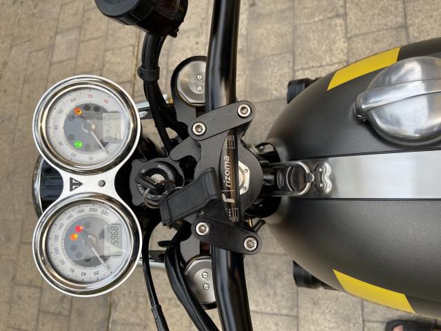 _ Moi ve xe Triumph Thruxton R ABS 1200cc HQCN Dang ky 32017 chinh chu odo dung chuan 5900km - 5
