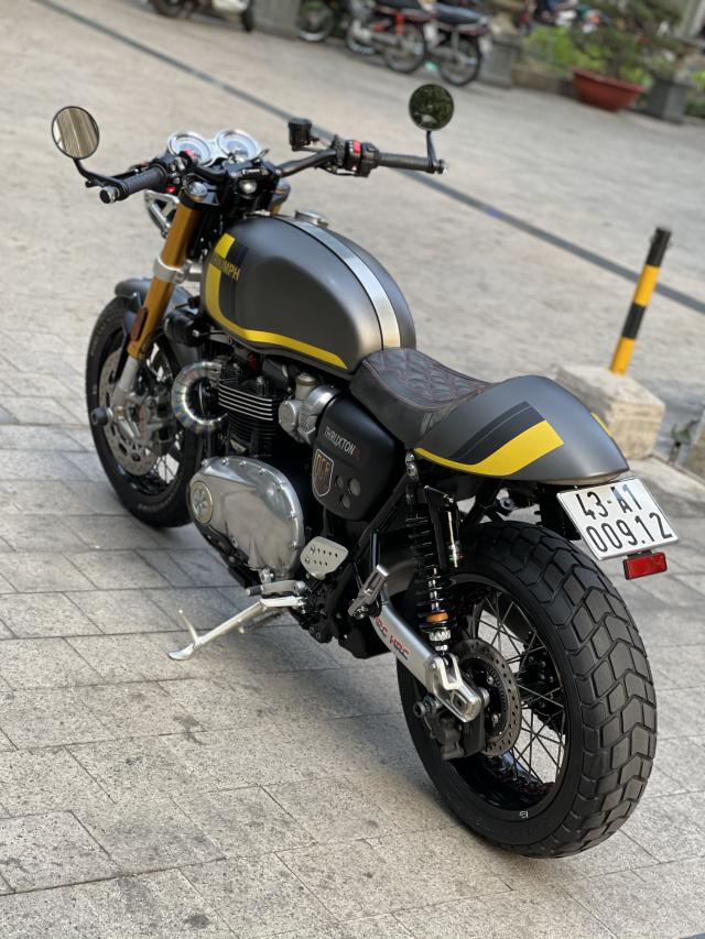 _ Moi ve xe Triumph Thruxton R ABS 1200cc HQCN Dang ky 32017 chinh chu odo dung chuan 5900km - 8