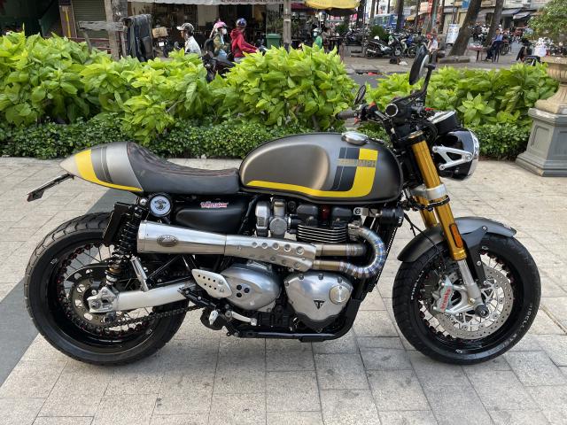 _ Moi ve xe Triumph Thruxton R ABS 1200cc HQCN Dang ky 32017 chinh chu odo dung chuan 5900km - 9