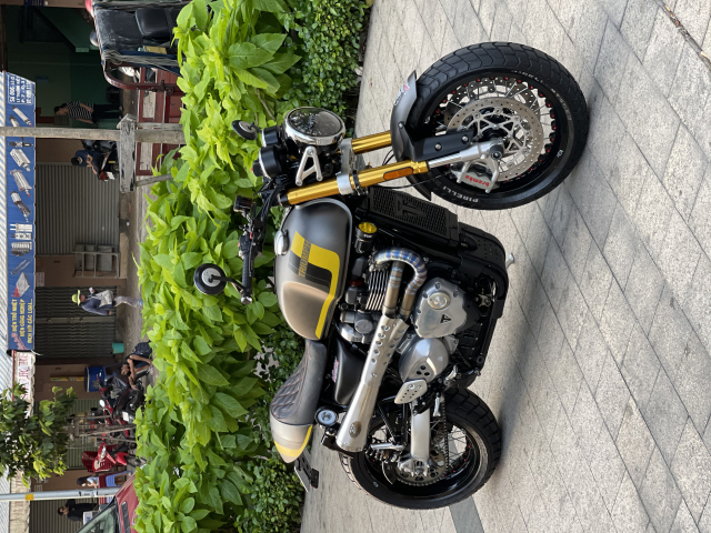 _ Moi ve xe Triumph Thruxton R ABS 1200cc HQCN Dang ky 32017 chinh chu odo dung chuan 5900km - 4