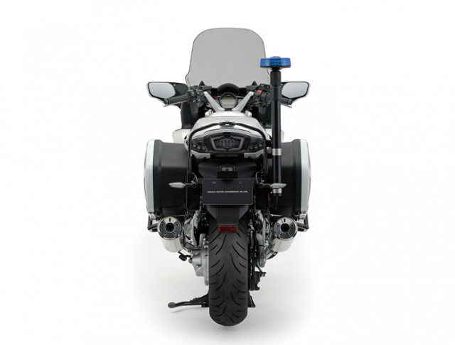 Canh sat Malaysia duoc trang bi Yamaha FJR1300P - 5
