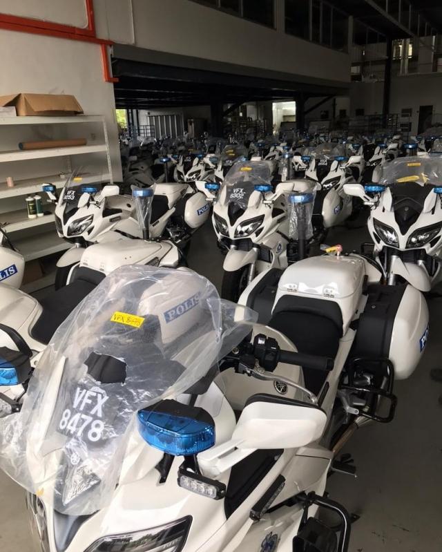 Canh sat Malaysia duoc trang bi Yamaha FJR1300P - 9