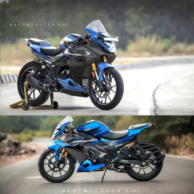 Honda Hornet 20 bien hinh voi phong cach Sportbike - 3