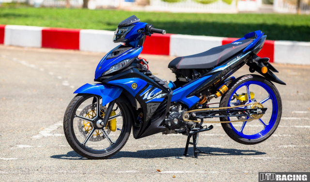 Exciter 135 do thanh LC135 DINH khong can CHINH - 15