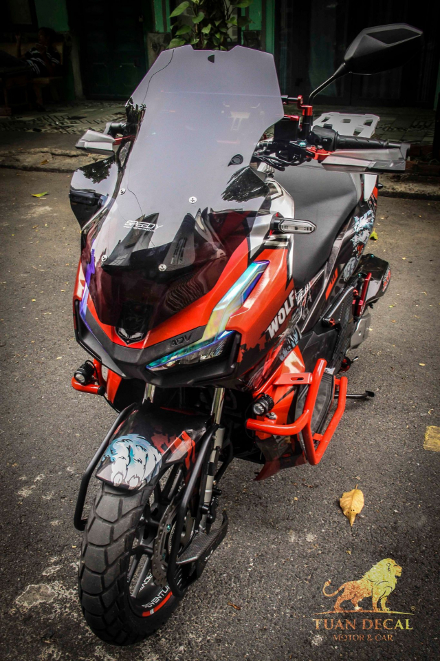 ADV 150 ham ho that su trong bo canh candy - 3