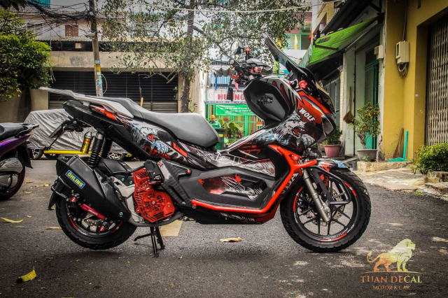 ADV 150 ham ho that su trong bo canh candy