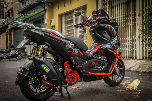 ADV 150 ham ho that su trong bo canh candy - 5