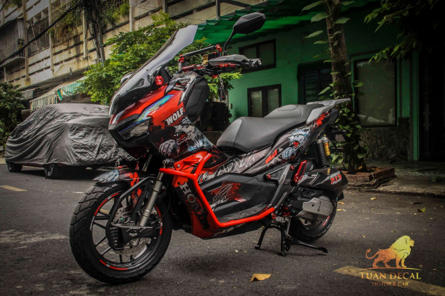 ADV 150 ham ho that su trong bo canh candy - 10