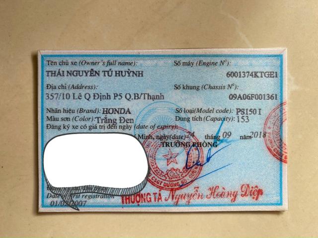 Ban Honda Ps Fi150 2007 - 2
