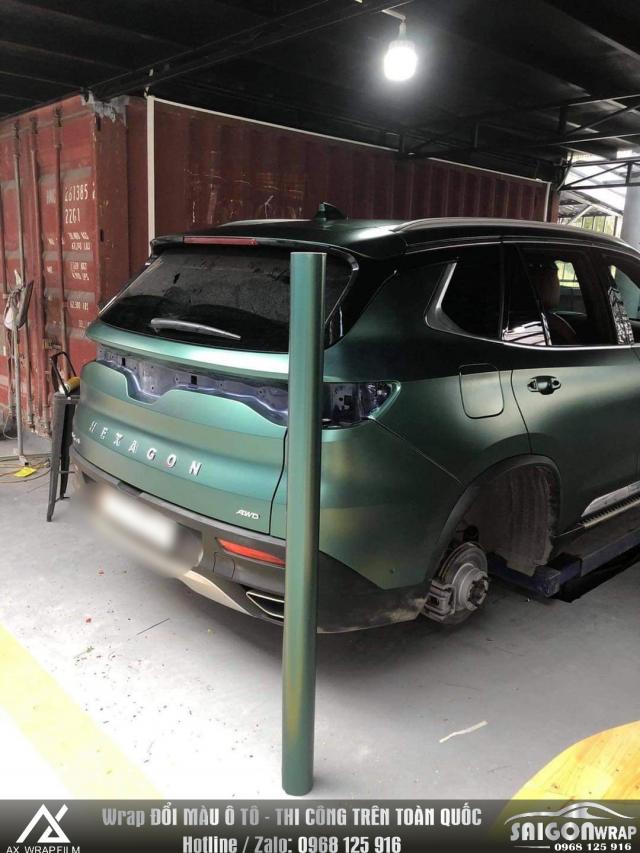 Dan Decal Doi Mau O to Xe Hoi Tan Noi SaiGon Car Wrap - 4