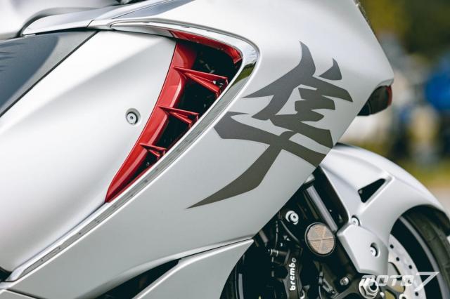 Danh gia Suzuki Hayabusa 2021 Lay cam hung tu Chim ung Peregrine - 9