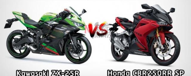 Kawasaki Ninja ZX25R va Honda CBR250RR SP tren ban can thong so